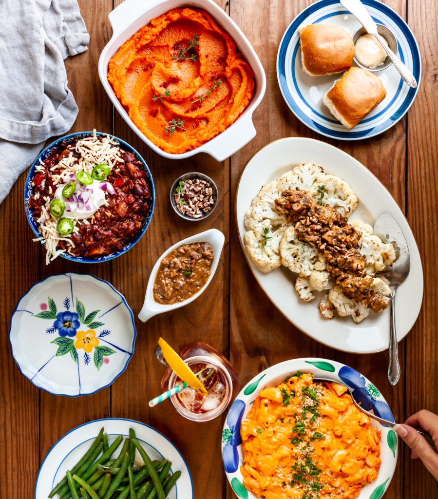 Southern Comfort Chapter from 30 Minute Vegan Dinners by Megan Sadd