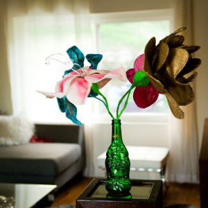 DIY Wire Flower Sculptures, Pt. 1