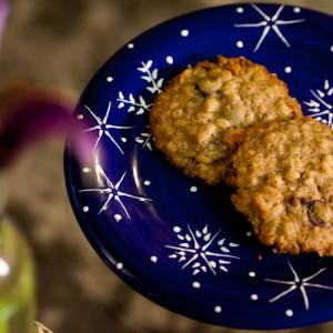 California Dreamin' Vegan Granola Cookies