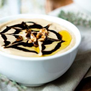 Creamy Roasted Sunchoke Soup (Vegan)