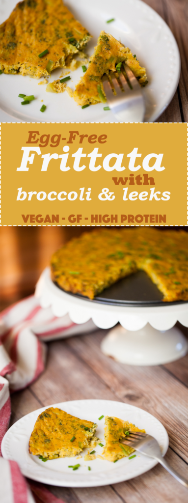 EASY Vegan Frittata with Broccoli & Leeks! Healthy, delicious, and gluten-free | The PERFECT brunch recipe | Make the day before and bake in the morning for a quick breakfast