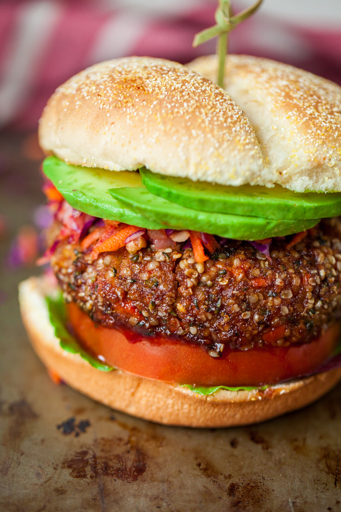 INCREDIBLE Korean BBQ Veggie Burgers | Sweet, savory, and just a bit spicy | Vegan + Gluten-free | Perfect healthy recipe for lunch or dinner